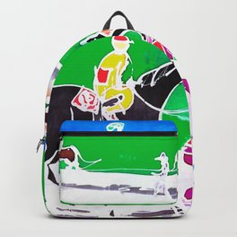 At the Races           by Kay Lipton Backpack