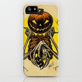 Autumn People 7 iPhone Case