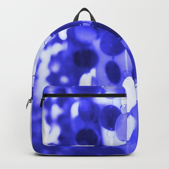 GLAM CIRCLES #Blue #2 Backpack