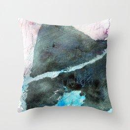 Continental Drift Throw Pillow