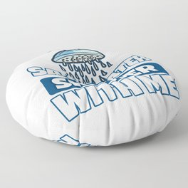 Save Water Shower With Me Floor Pillow