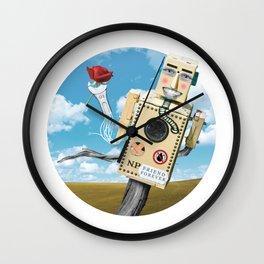 Built a Friend Wall Clock