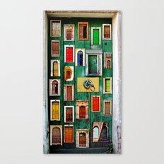 Storytelling doors  Canvas Print