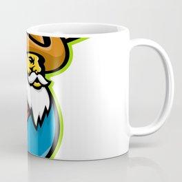 Miner Baseball Player Mascot Coffee Mug