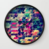 city Wall Clocks featuring Atym by Spires