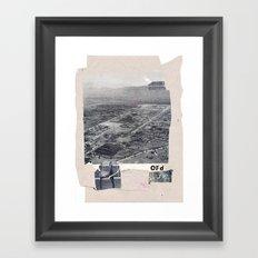 OFd Framed Art Print