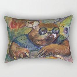 Koala and Sloth Rectangular Pillow