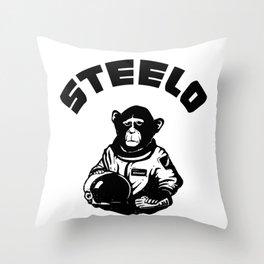 space monkey Throw Pillow