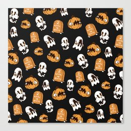 Halloween Patter Canvas Print