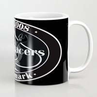 cafe racer Mugs featuring Cafe Racer  by Peter G. Brandt
