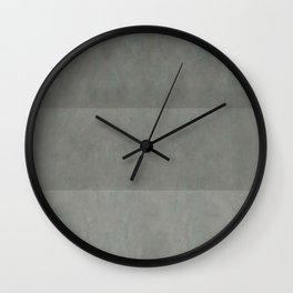 """Spring light grey horizontal lines"" Wall Clock"
