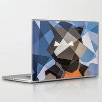 rocket raccoon Laptop & iPad Skins featuring Rocket by Eric Dufresne