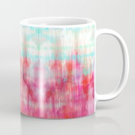 Color Song - abstract in pink, coral, mint, aqua Coffee Mug
