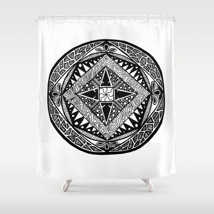 Deco Shower Curtain