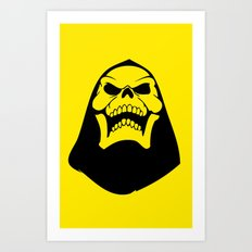 Skeletor. Art Print