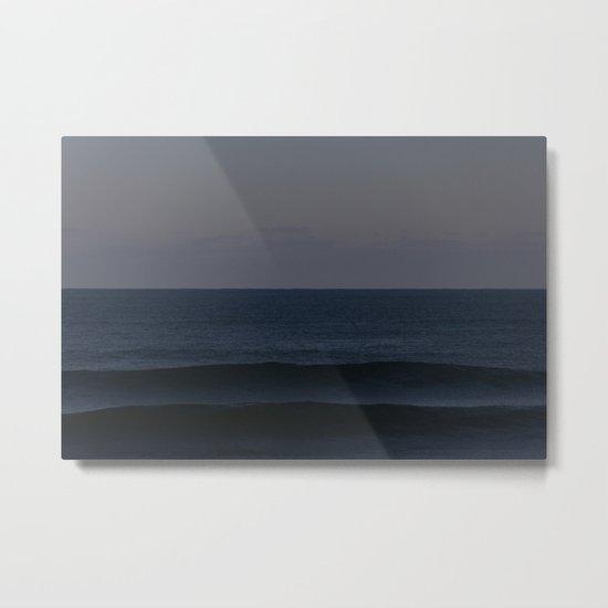 Ocean Shadows Metal Print