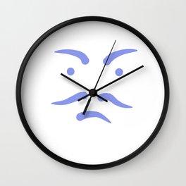 Le visage Wall Clock