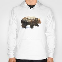 andreas preis Hoodies featuring Arctic Grizzly Bear by Andreas Lie