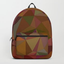 Autumn  triangles Backpack
