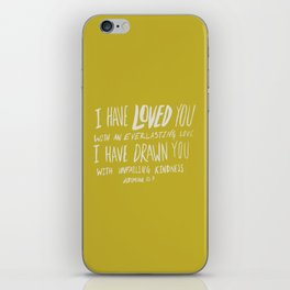 Everlasting Love x Mustard iPhone Skin