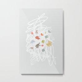 Implode Metal Print