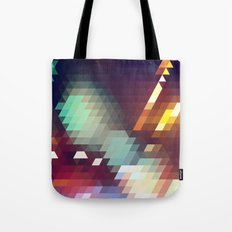Triangle Pattern Tote Bag