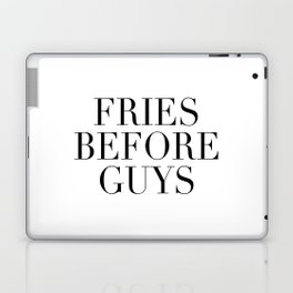 Fries before guys Laptop & iPad Skin