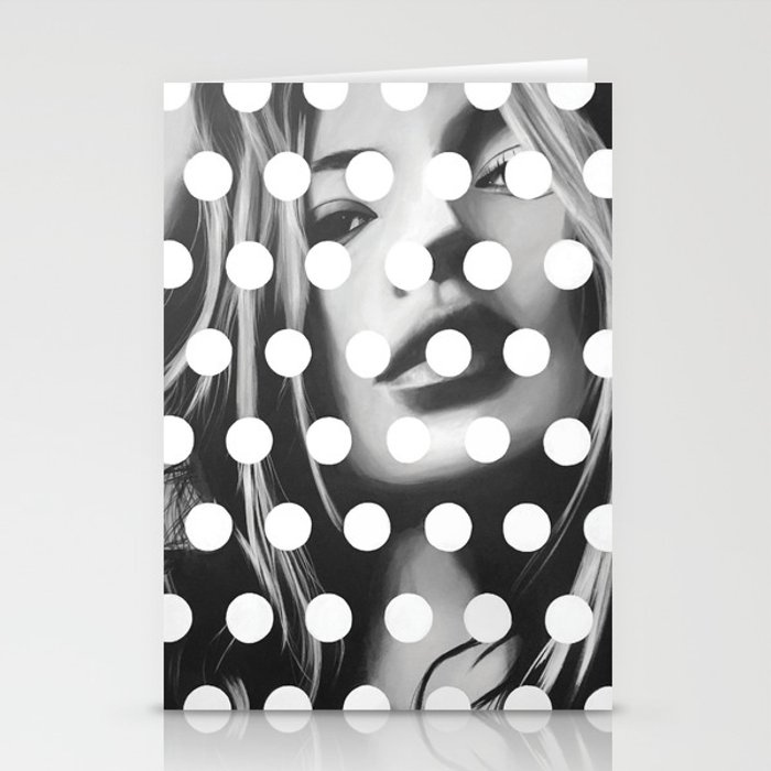 Kate Moss x Dots by Moe Notsu Stationery Cards