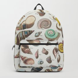 Vintage shell pattern Backpack
