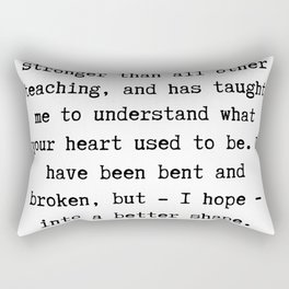 5    | Charles Dickens Quotes | 190727 Rectangular Pillow
