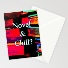 Novel & Chill? Stationery Cards