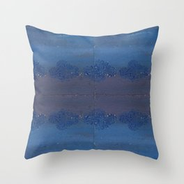 Influence from India Throw Pillow