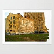 CARE Building Art Print