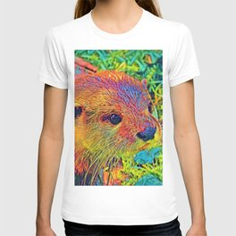 AnimalColor_Otter_001_by_JAMColors T-shirt