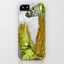 Observers iPhone Case