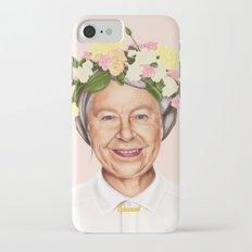 Hipstory - Queen Elizabeth Slim Case iPhone 7
