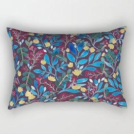 Fall Flavors Violet Rectangular Pillow