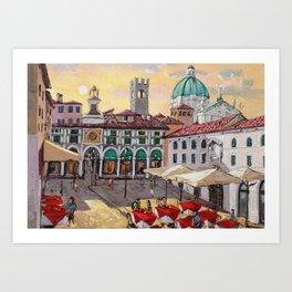 Brescia, my city Art Print