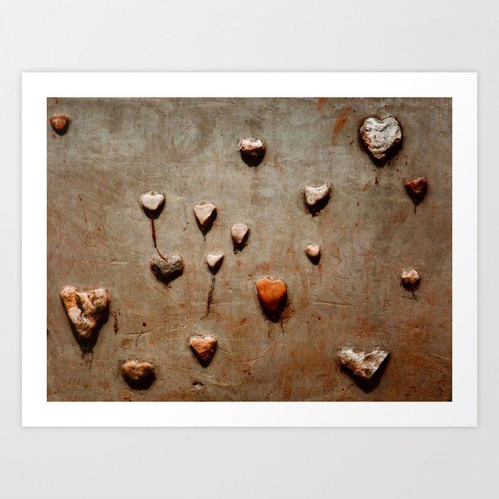 """I Keep Meeting Cold Stone Hearts"" Art Print"