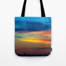 Sunset in Caleidoscope Tote Bag