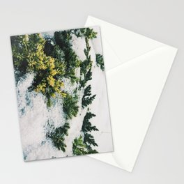 Winter in spring Stationery Cards