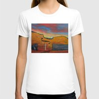 violin T-shirts featuring Violin by Michael Creese