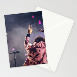 Harry styles peace Stationery Cards