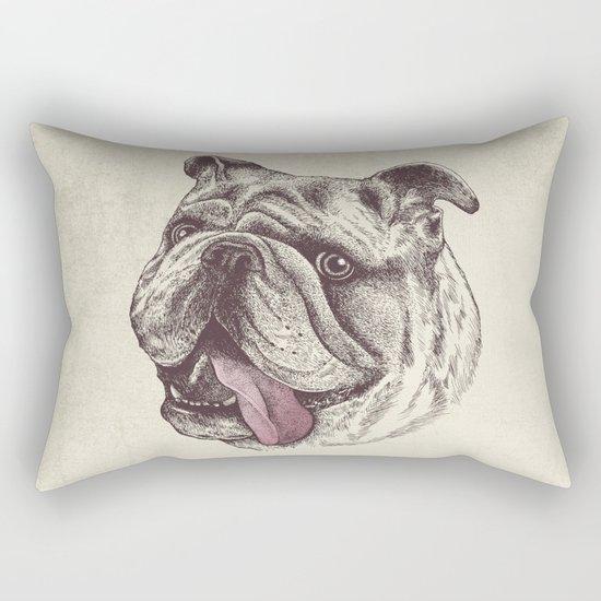 Bulldog King Rectangular Pillow