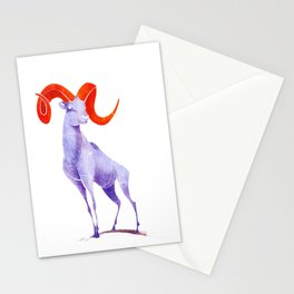 Dall Sheep Stationery Cards
