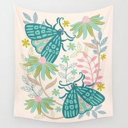TWO MOTHS Wall Tapestry