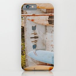 lets surf xii iPhone Case
