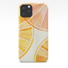 Sunny Citrus iPhone Case