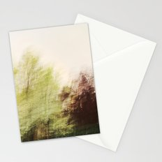Trees in a dream Stationery Cards