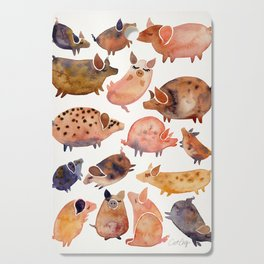 Pig Collection Cutting Board